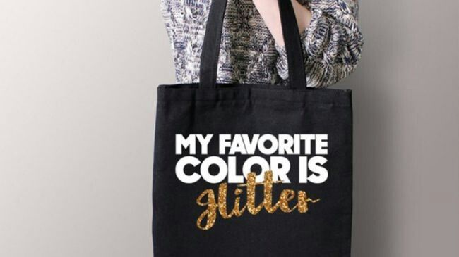 File:Bad Font Choices - My Favorite Color Is Glitter.jpg