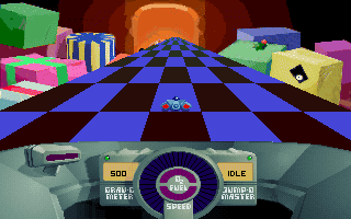 File:SkyRoads Xmas Special - DOS - Screenshot - Playing.png