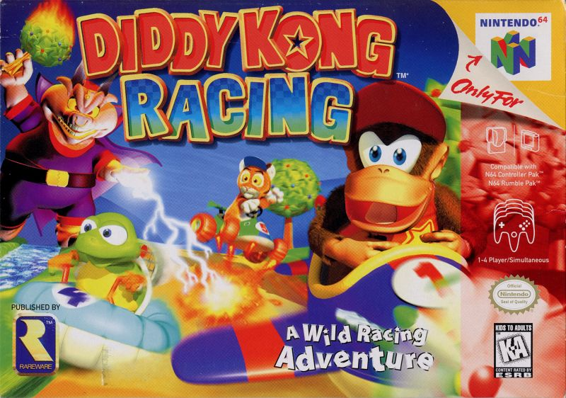 File:Diddy Kong Racing - N64 - USA.jpg