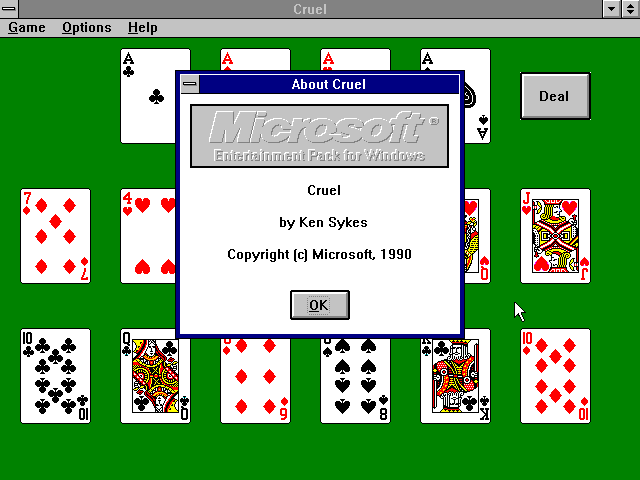 File:Cruel - WIN3 - Screenshot - About.png