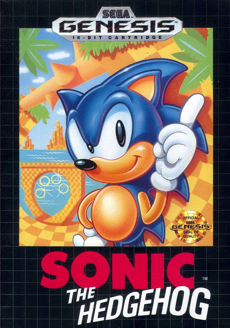 North American Genesis box art.