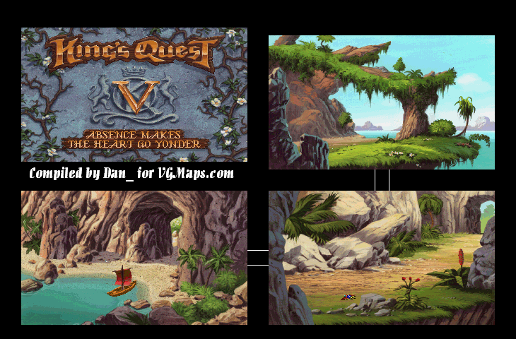 File:King's Quest V - DOS - Map - Harpy Island.png