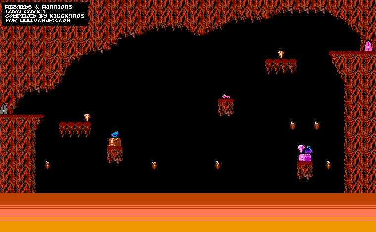 File:Wizards & Warriors - NES - Map - Lava Cave - Part 1.png
