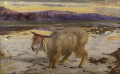 William Holman Hunt - 1854 - Scapegoat, The.jpg