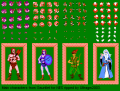 Gauntlet - NES - Graphic Sheet - Characters.png