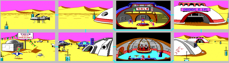 File:Space Quest I - Sarien Encounter, The - DOS - Map - Ulence Flats.png