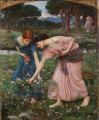 John William Waterhouse - 1909 - Gather Ye Rosebuds.jpg