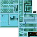 Blaster Master - NES - Map - Area 6 - Interiors.png