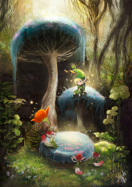 File:Legend of Zelda, The - Minish Cap, The - GBA - Fan Art - Enigmasystem.png