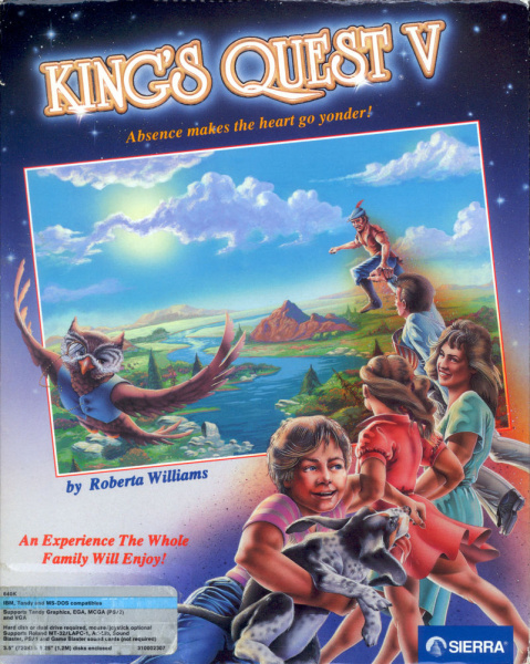 File:King's Quest V - DOS - USA - 1st Edition.jpg