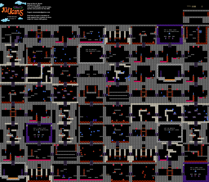 File:Kid Icarus - Angel Land Story - NES - Map - 3-4.png