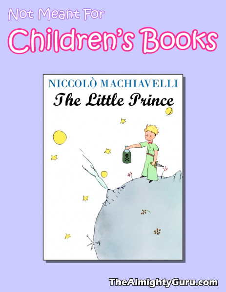 File:Not Meant For Children's Books - Little Prince, The.jpg