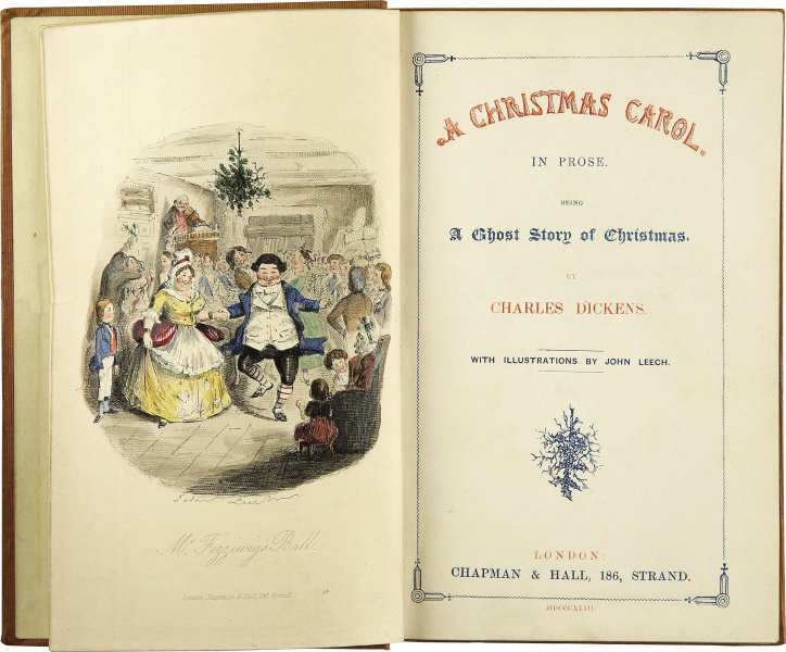File:Christmas Carol, A - Hardcover - UK - First Edition - Title Page.jpg