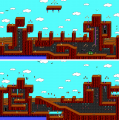 Commander Keen 4 - DOS - Map - Sand Yego.png