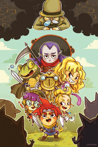File:Chrono Trigger - SNES - Fan Art - Ohmonah.jpg