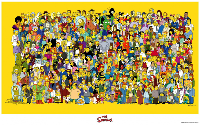 File:Simpsons - Characters Poster.jpg
