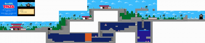 File:Kyatto Ninden Teyandee - NES - Map - Stage 1.png