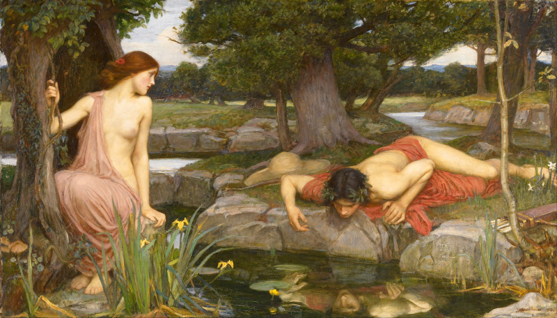 File:John William Waterhouse - 1903 - Echo and Narcissus.jpg