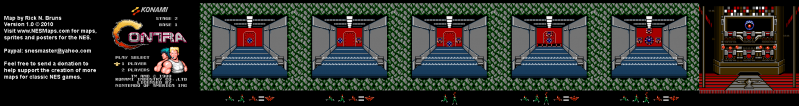 File:Contra - NES - Map - 2 - Base 1.png