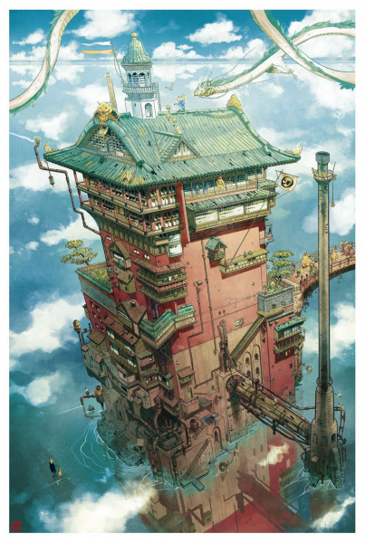 File:Spirited Away - Fan Art - Mathieu Bablet.jpg