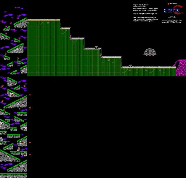 File:Super C - NES - Map - Area 5.png