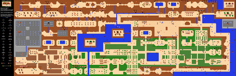 File:Legend of Zelda - 2nd Quest Overworld.png