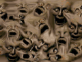 Doom - DOS - Texture - Warped Faces.png