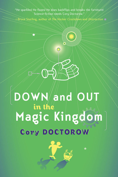 File:Down and Out In the Magic Kingdom - Hardcover - USA - 1st Edition.jpg