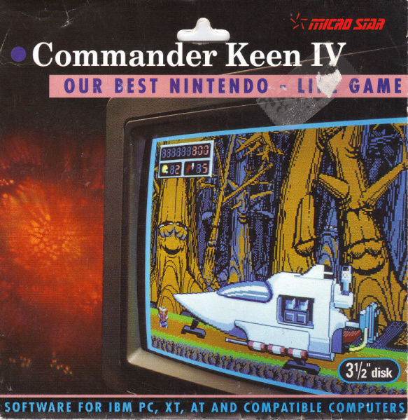 File:Commander Keen 4 - DOS - USA.jpg