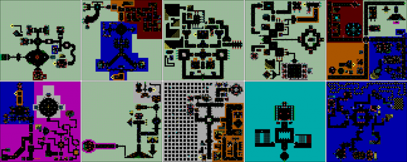 File:Wolfenstein 3D - DOS - Map - Episode 2.png