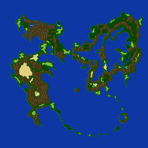 File:Final Fantasy V - SNES - Map - Overworld - First World - With Crystals.png