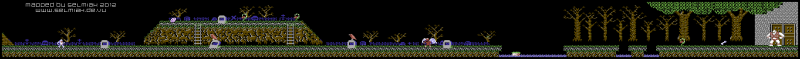 File:Ghosts 'N Goblins - C64 - Map - Stage 1.png