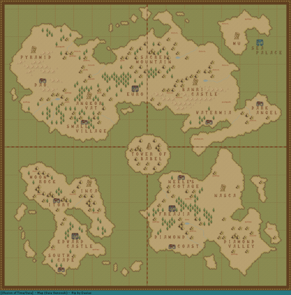 File:Illusion of Gaia - SNES - Map - World.png