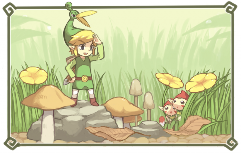 File:Legend of Zelda, The - Minish Cap, The - GBA - Fan Art - KIRU75.png