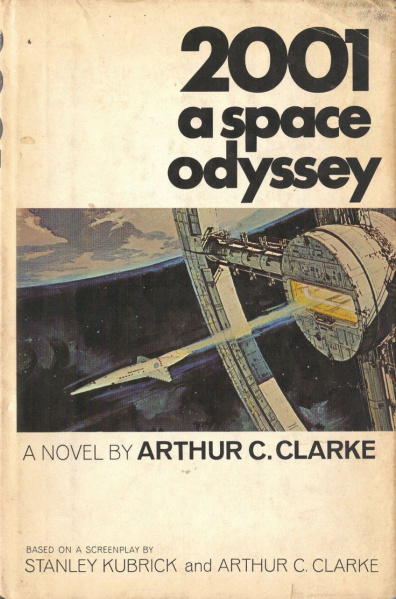 File:2001 - A Space Odyssey - Hard Cover - USA - 1st Edition.jpg