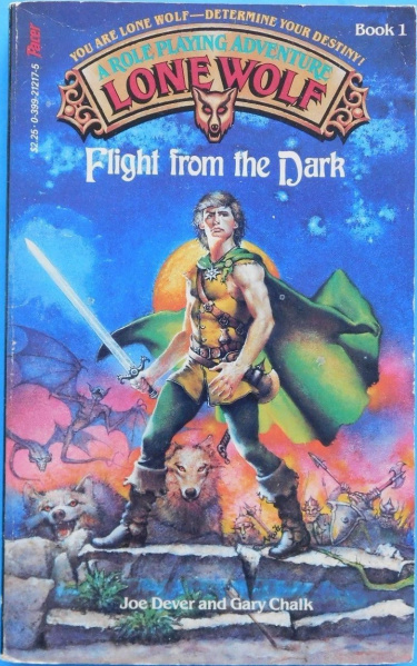 File:Lone Wolf - Flight From the Dark - Mass Market - USA - 1st Edition.jpg