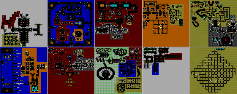 File:Wolfenstein 3D - DOS - Map - Episode 4.png