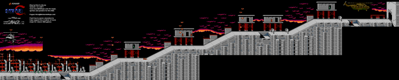 File:Super C - NES - Map - Area 1.png
