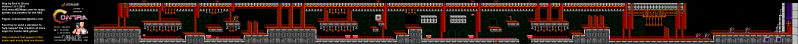 File:Contra - NES - Map - 7 - Hangar.png