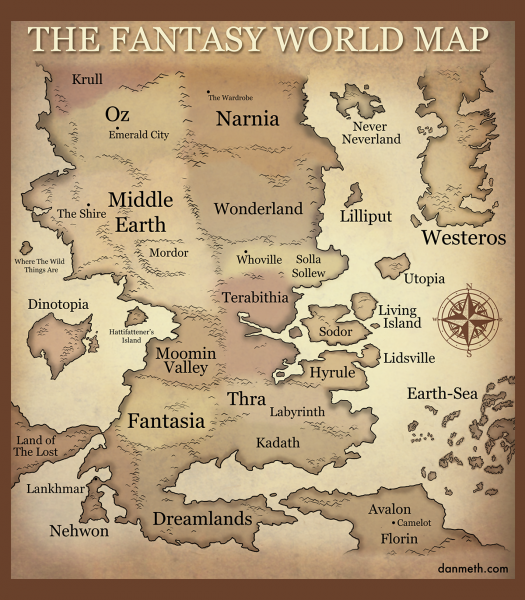 File:Dan Meth - The Fantasy World Map.png