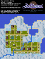 ActRaiser - SNES - Map - Northwall City - Populated.png