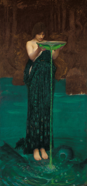File:John William Waterhouse - 1892 - Circe Invidiosa (Color Corrected).jpg