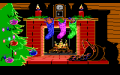 Computer Christmas, A - Screenshot - PCjr - Fireplace.png