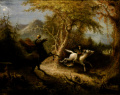 John Quidor - 1858 - Headless Horseman Pursuing Ichabod Crane, The.jpg